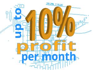 Whats a good forex return per month